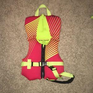 Other - West marine infant life jacket